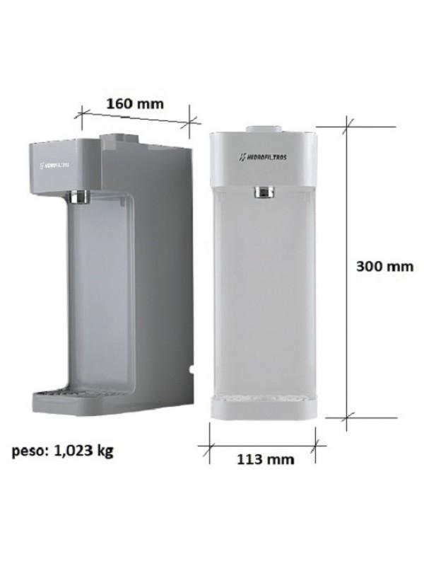 Purificador de Água Facile - Cinza-Prata