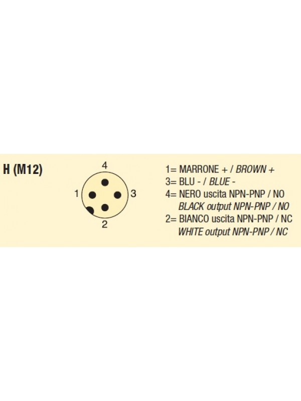 Sensor capacitivo M30 - SC30-SP-C20-PNP-NO+NC-H