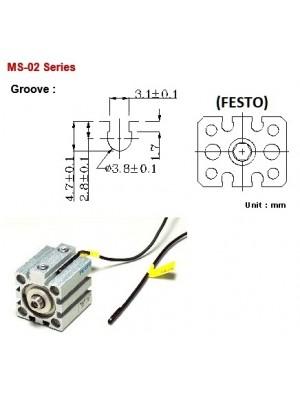 Sensor Magnético MS-02-R-1M