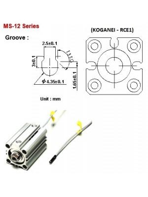 Sensor Magnético MS-12-P-1M