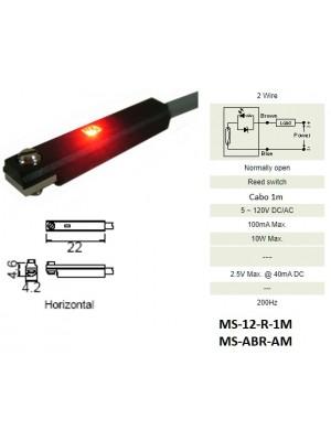 Sensor Magnético MS-12-R-1M