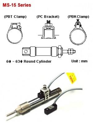 Sensor Magnético MS-15-R-2M