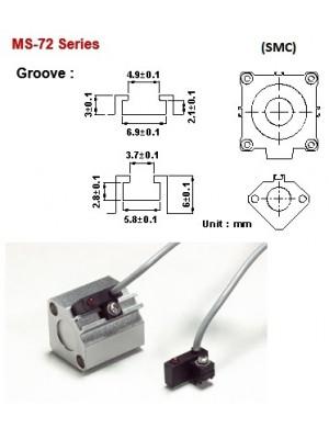 Sensor Magnético MS-72-R-1M