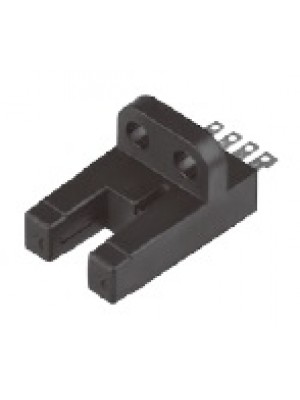 Sensor fotoelétrico, micro U-shape, terminais