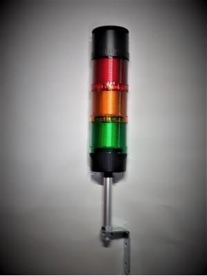 Torre de Sinalização Modular LED com sonoro 70mm