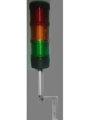 Torre de Sinalização Modular LED sem sonoro 70mm