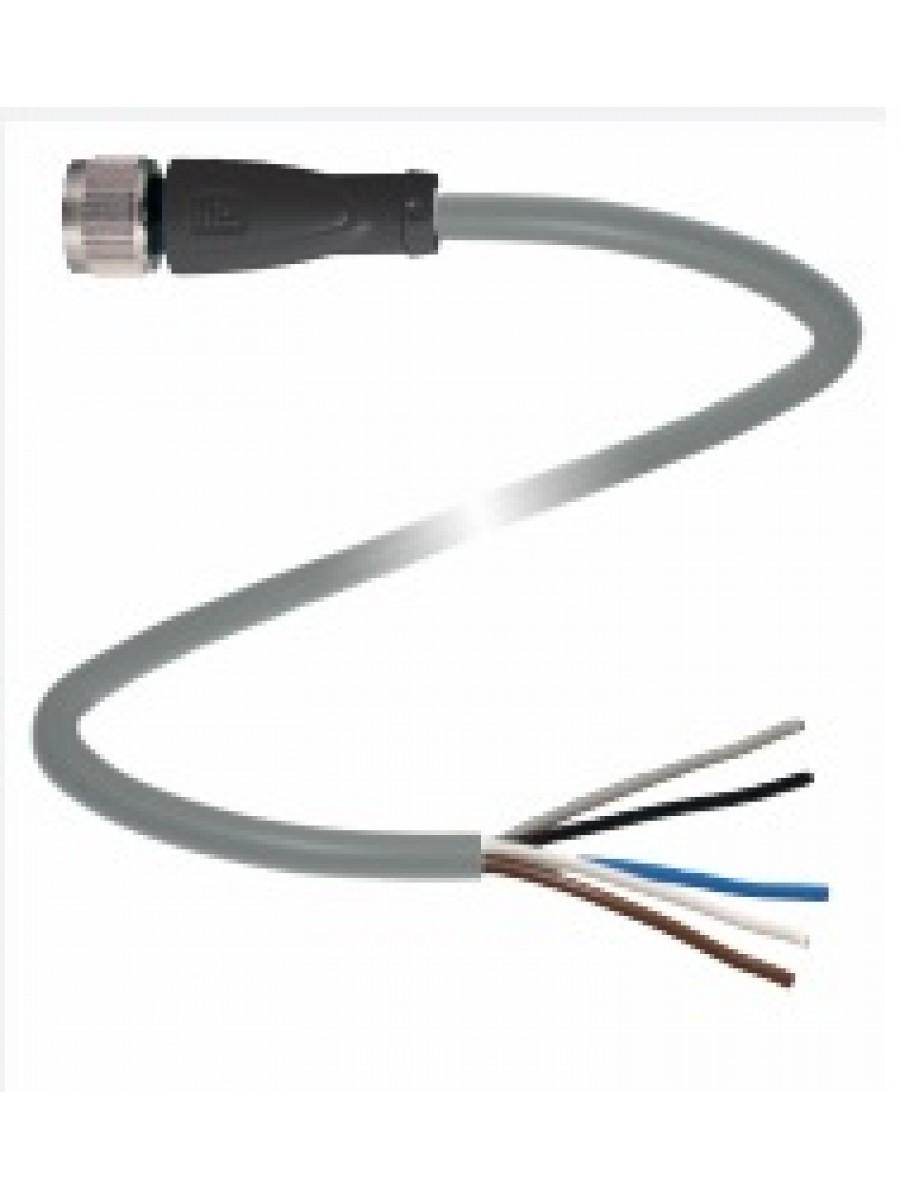 Cabo conector M12 MS-V15-G-2M-PVC
