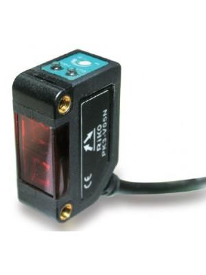Sensor fotoelétrico retangular reflexivo