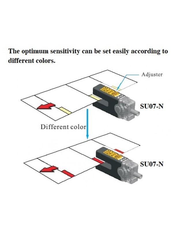 Sensor fotoelétrico slot U NPN
