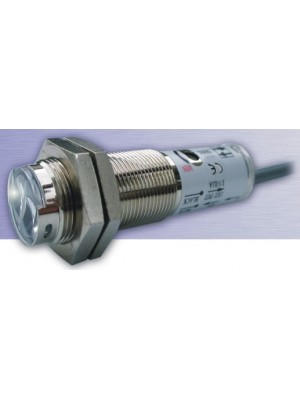 Sensor fotoelétrico tubular difuso M18