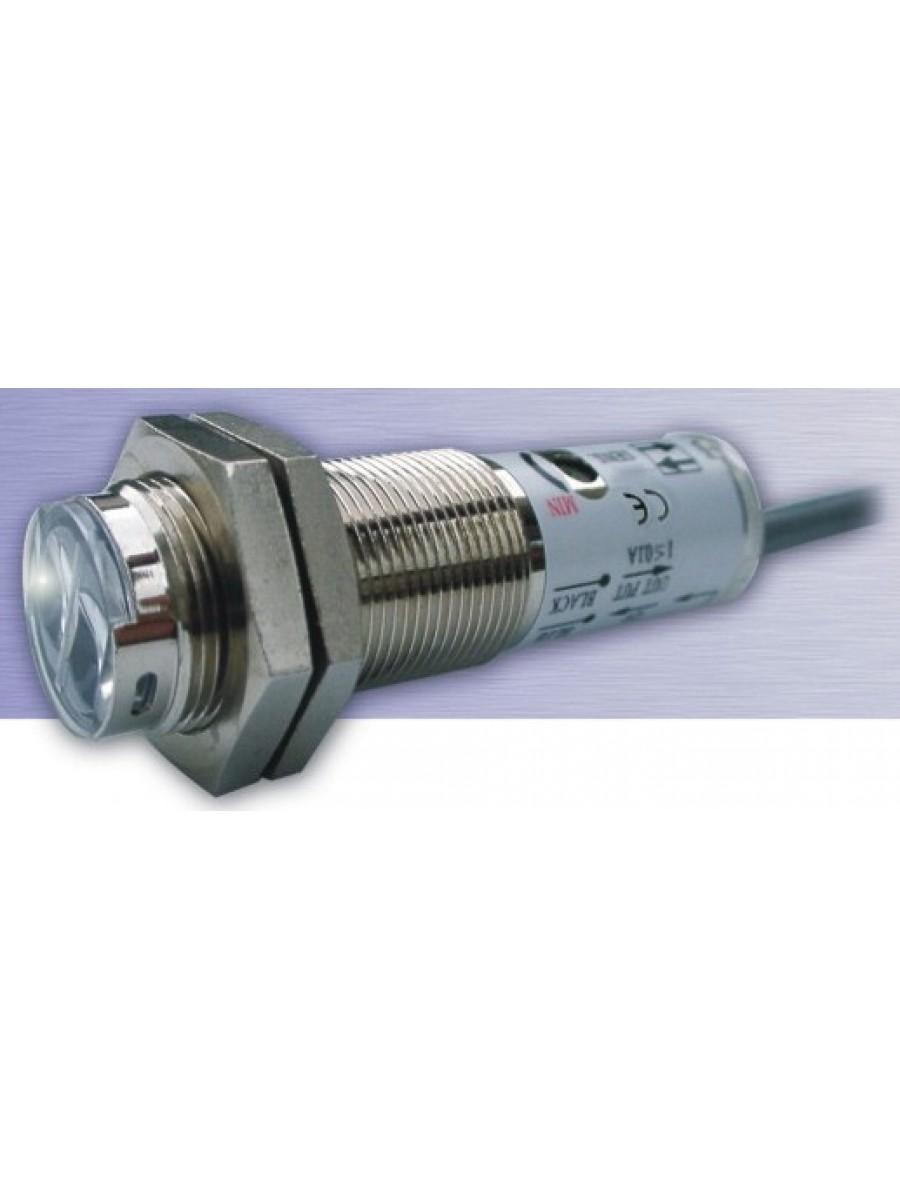 Sensor fotoelétrico tubular difuso M18 MS-WO-DNMW1