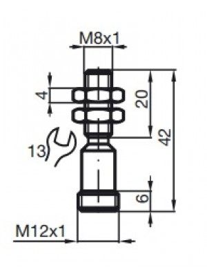 Sensor indutivo NAMUR