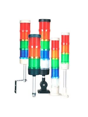 Torre de sinalização 3 cores sem sonoro 50mm