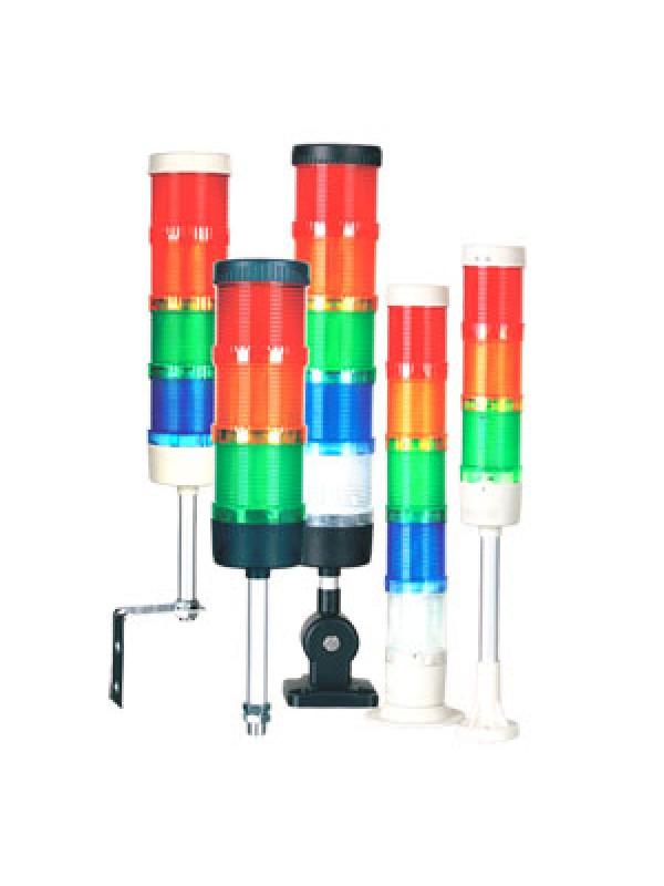 Torre de sinalização sem sonoro 50mm