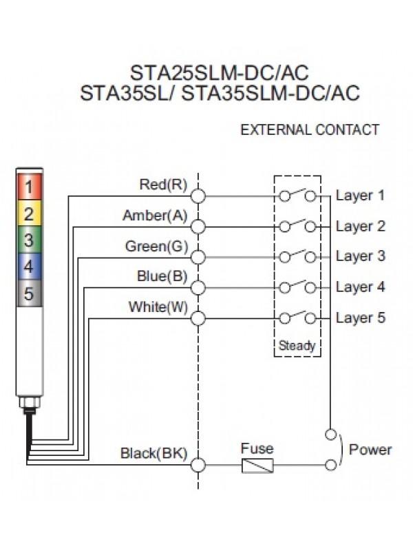 Torre de Sinalização STA-25SLM-1-24-A